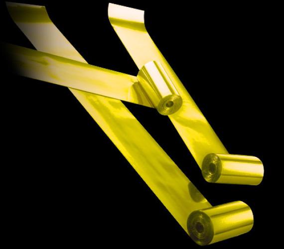 Серпантин металлизированный 4смх20м золото