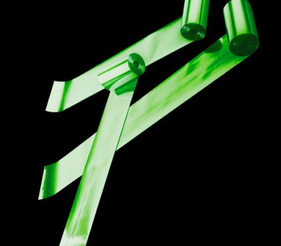 Серпантин металлизированный 1,5смх5м зеленый