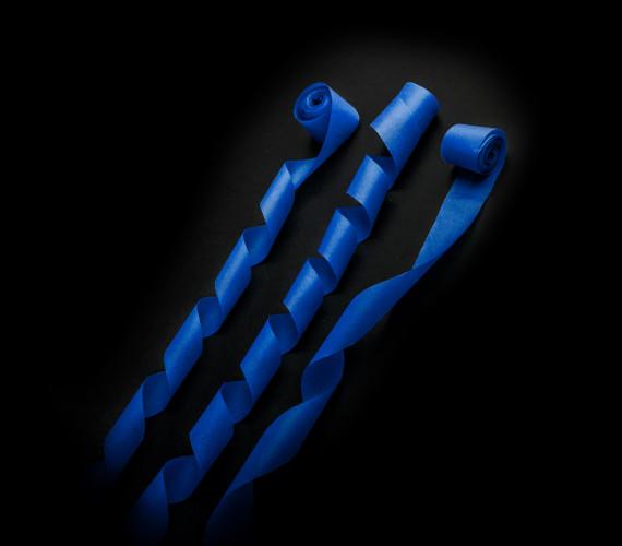 Серпантин бумажный 2смх5м синий