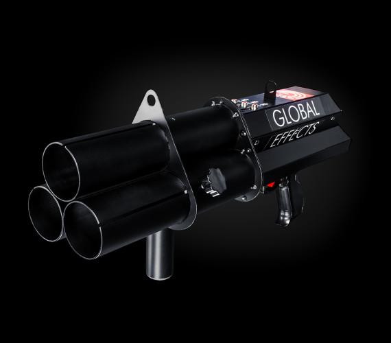 Ручная пневматическая конфетти-пушка (3 ствола)