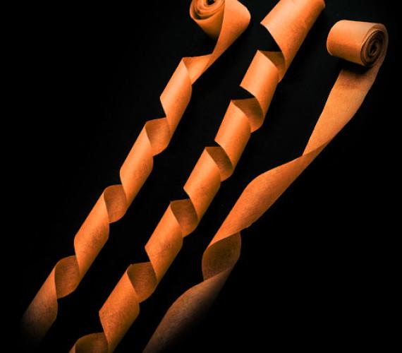 Серпантин бумажный 2смх5м оранжевый